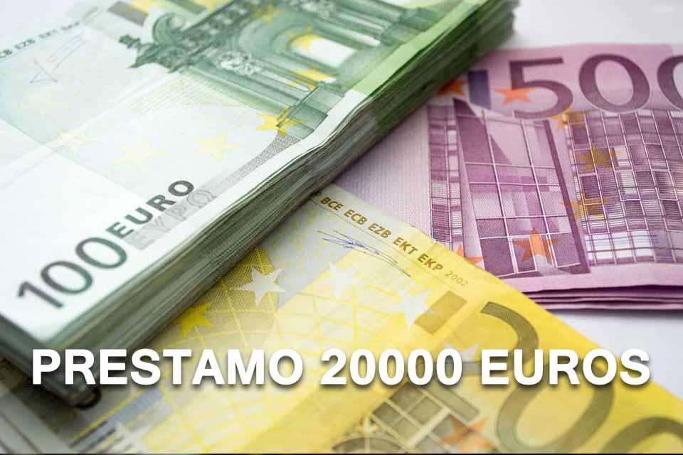 Prestamo 20000 euros