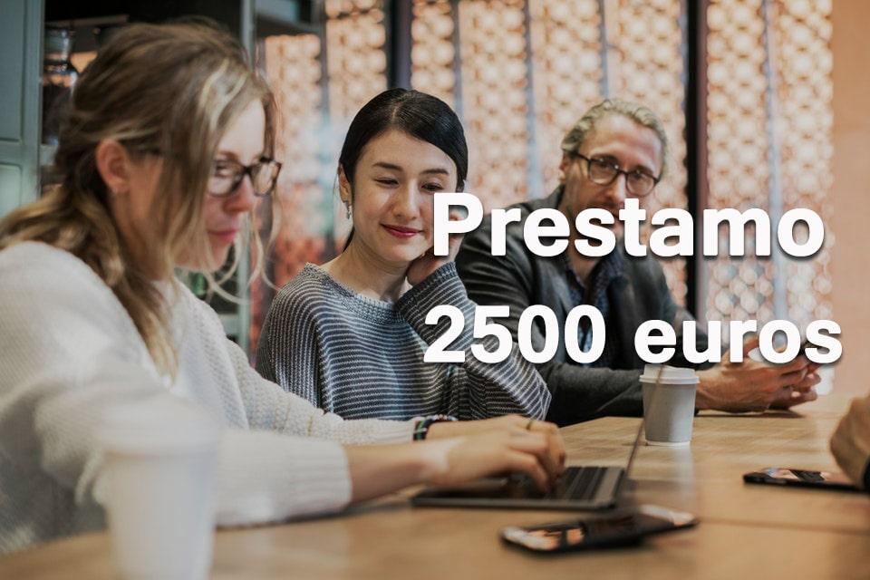 Prestamo 2500 euros